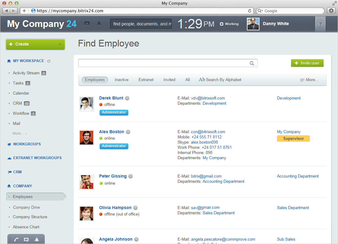 OFFICE42 - Enterprise v2.0 |Searchable Employee Directory | Office42